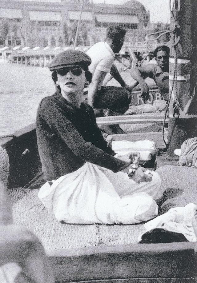 Gabrielle Chanel em Veneza (Foto: Divulgação)