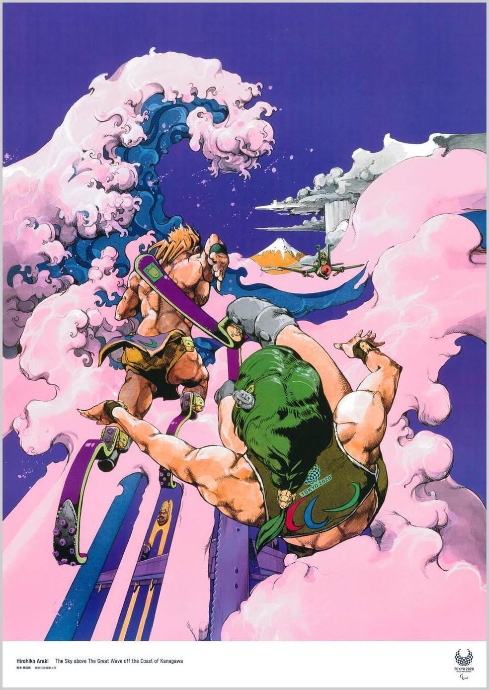 Hirohiko Araki / Artista de mangá — Foto: Reprodução