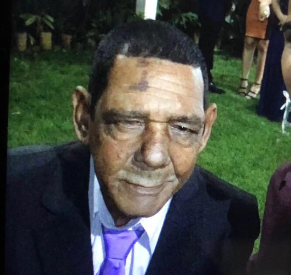 -  José Amaro Ferreira, pai do atacante Walter, está desaparecido desde o carnaval  Foto: Arquivo Pessoal
