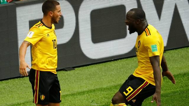Hazard e Lukaku brilharam pela Bélgica