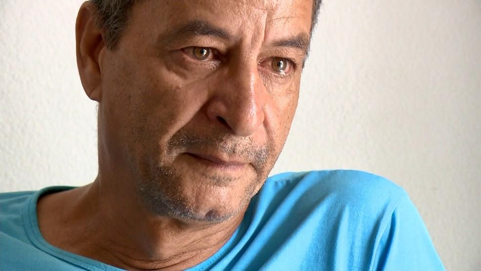 Pai relata a dor de perder filho em Portugal, no ES — Foto: Reprodução/ TV Gazeta