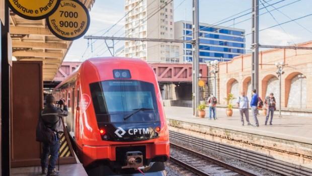 CPTM do São Paulo - trem - linha - luz  - Estação da Luz - estação (Foto: Alexandre Carvalho/A2img/FotosPúblicas)