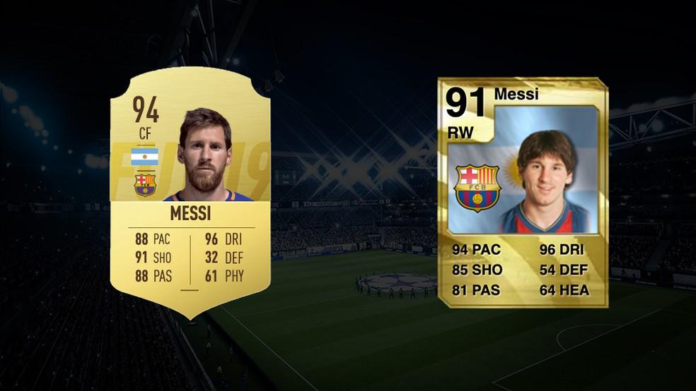 Messi é um dos cards mais cobiçados do Ultimate Team há anos — Foto: Reprodução/Murilo Molina