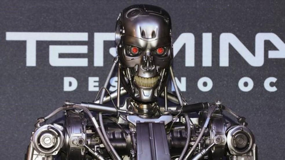 Exterminador do Futuro         — Foto: VICTOR CHAVEZ
