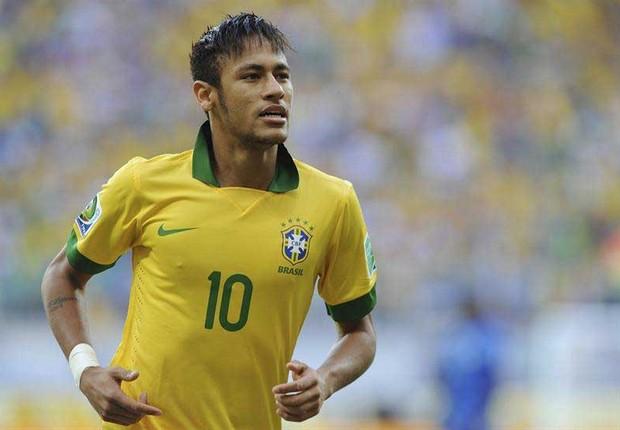 Neymar, o atual camisa 10 da seleção (Foto: Agência EFE)