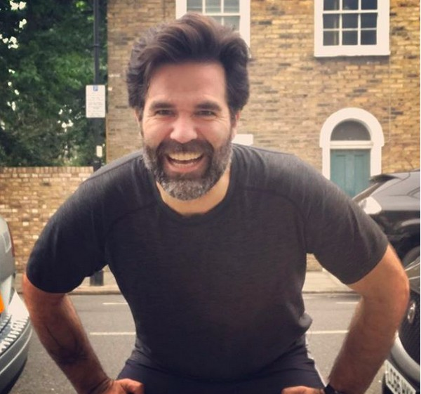 O ator Rob Delaney (Foto: Instagram)
