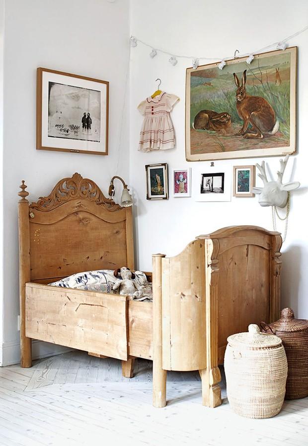 Décor do dia: quarto infantil vintage (Foto: Divulgação)