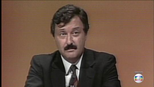 Jornalista e professor Carlos Chagas morre aos 79 anos em Brasília