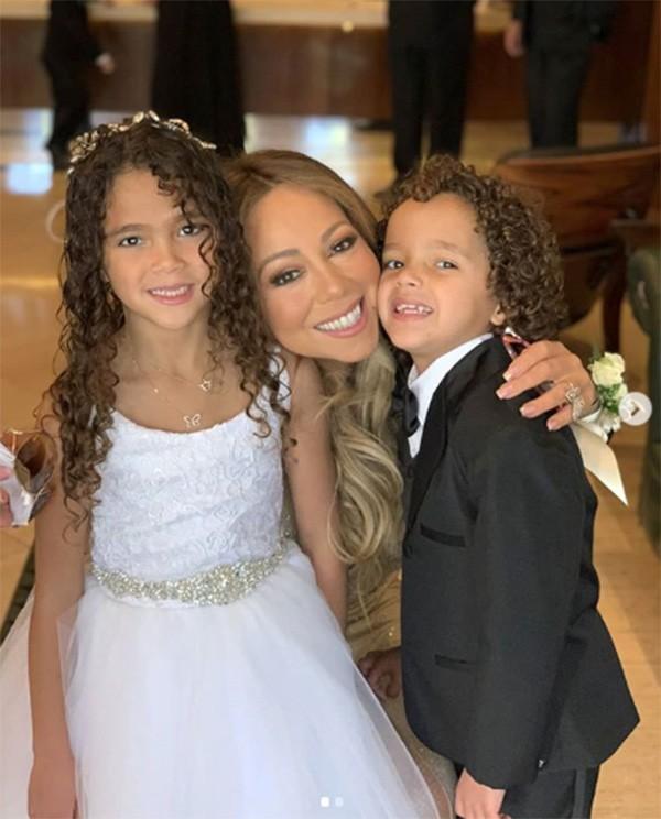 Mariah Carey, Moroccan e Monroe (Foto: Instagram)