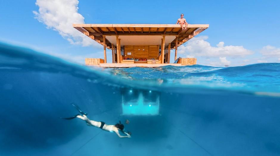 Manta Resort, na Tanzânia, oferece experiência única para os seus clientes (Foto: Divulgação)