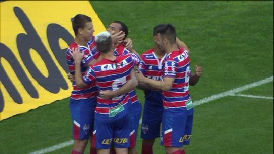 Os gols de Juventude 0 x 3 Fortaleza pela 18ª rodada da Série B