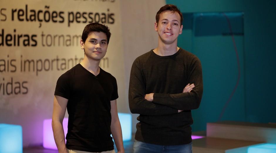 Lincoln Ando e do Raphael Melo, fundadores da IDWall (Foto: Yoshio Matuda)