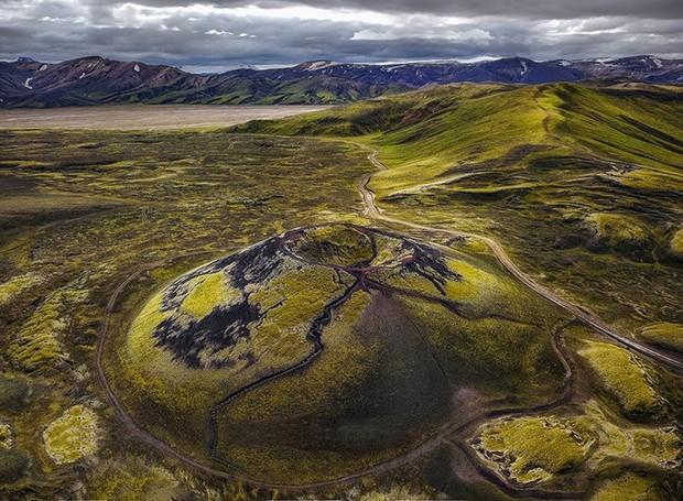 Concurso internacional de fotografia com drone (Foto: Kirsten Tñuber/Reprodução)
