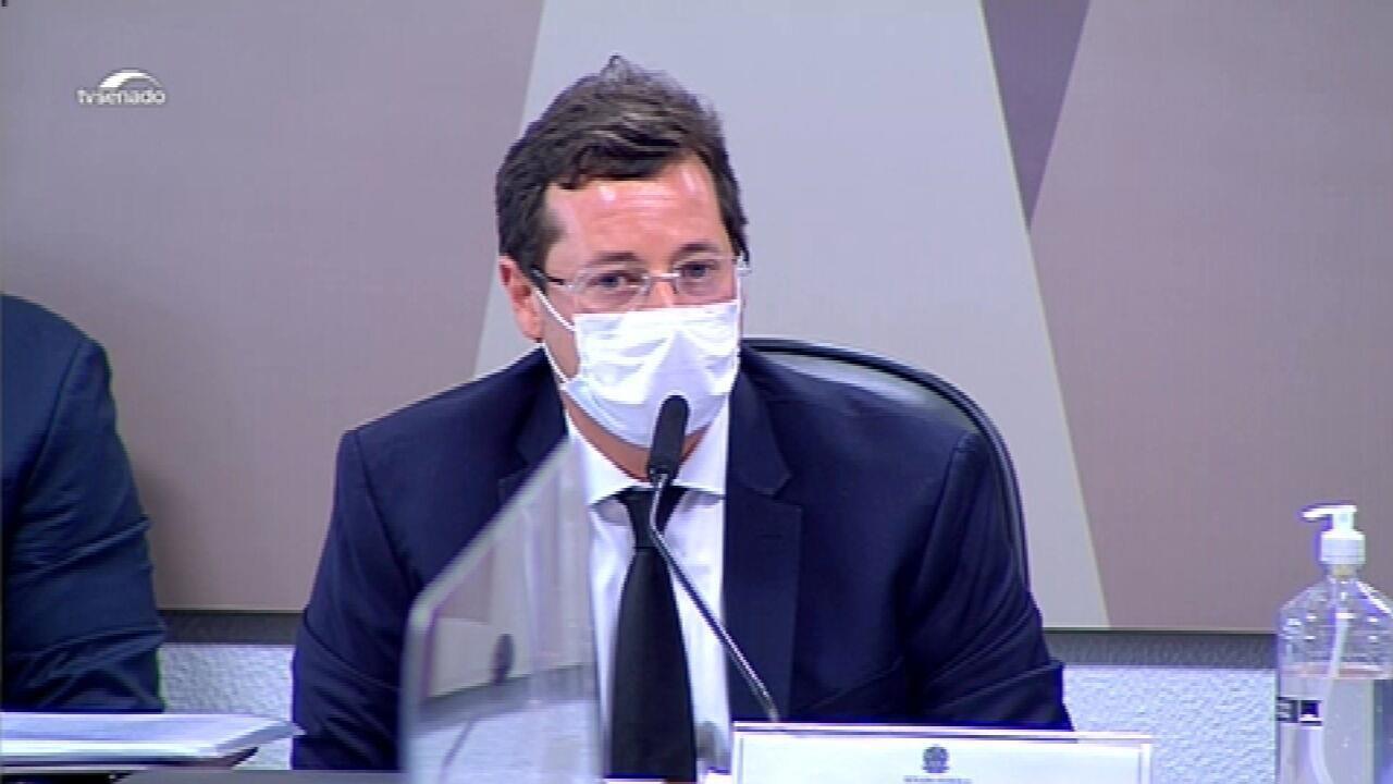 VÍDEOS: trechos do depoimento do ex-secretário de Comunicação do Planalto Fabio Wajngarten na CPI da Covid