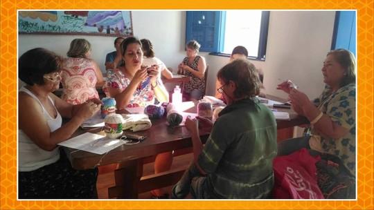 Nós.Doc: mulheres crocheteiras são capacitadas para o empreendedorismo