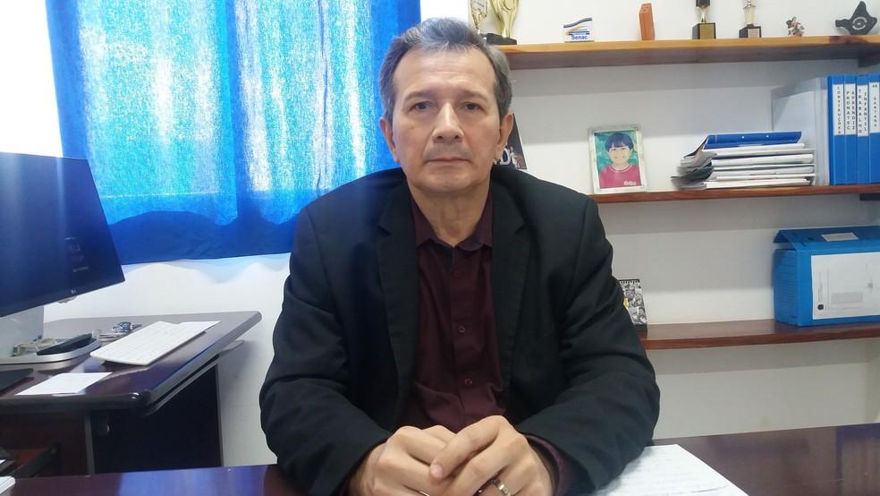 Ediraldo Homobono, superintendente do MTE no  Amapá (Foto: Jéssica Alves/G1)