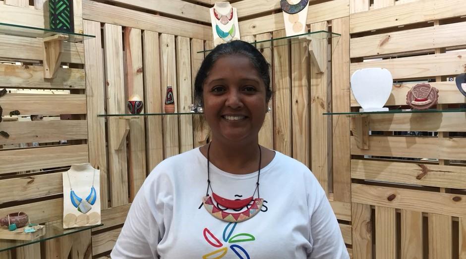 Josileide Lima, fundadora da empresa Mãos Caruanas (Foto: Editora Globo)