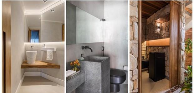 Madeira, cimento ou pedra: qual é o seu estilo favorito?  (Foto: Gam Arquitetos/Divulgação)