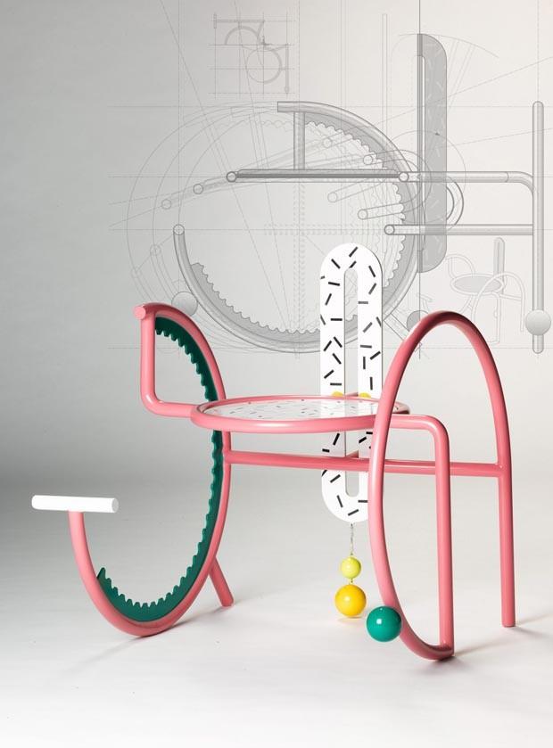 """Designer cria cadeiras para """"corpos inquietos"""" (Foto: Reprodução)"""