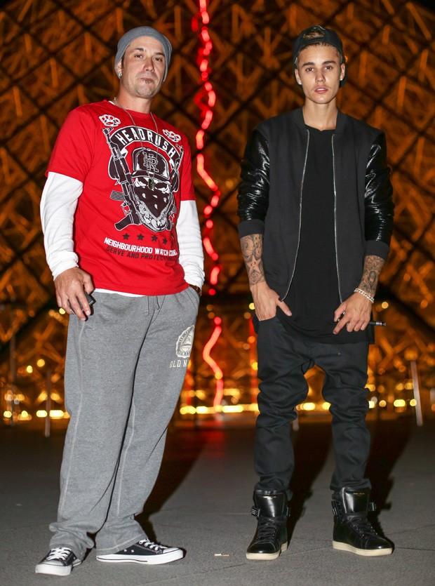 Jeremy Bieber e  Justin Bieber (Foto: Grosby Group)