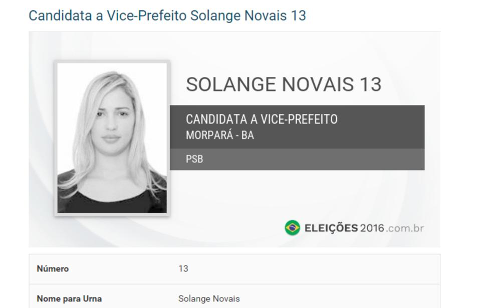 Vice-prefeita foi presa por desacato a autoridade (Foto: Reprodução/ Eleições 2016)