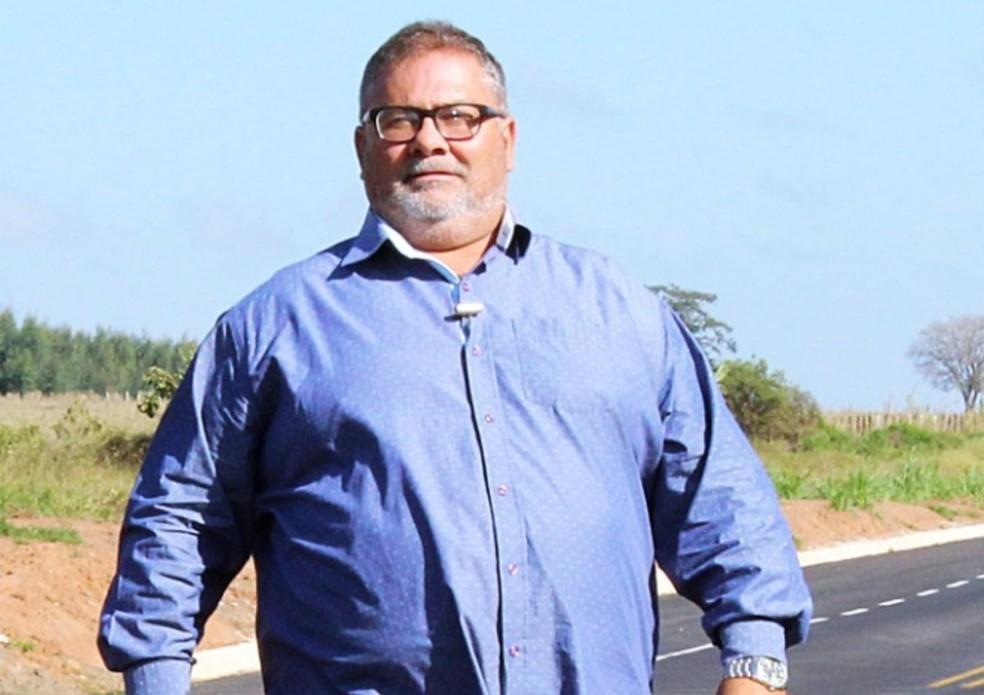 Prefeito Miguel Machado (PSD) foi cassado e não assumiu o poder executivo após reeleição no ano passado — Foto: Facebook/Reprodução
