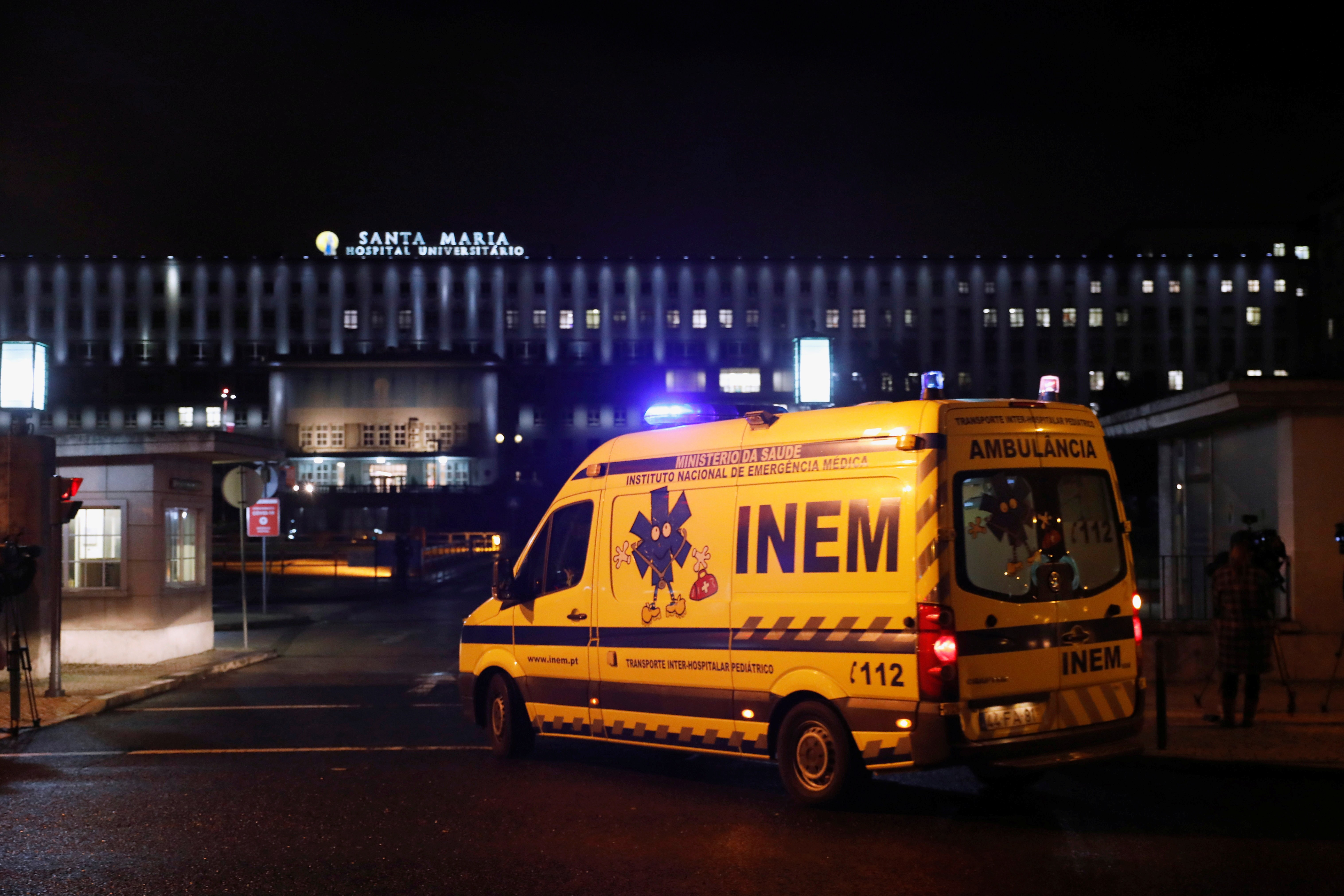 Suprimento de oxigênio em hospital de Portugal falha, e governo admite pedir ajuda internacional