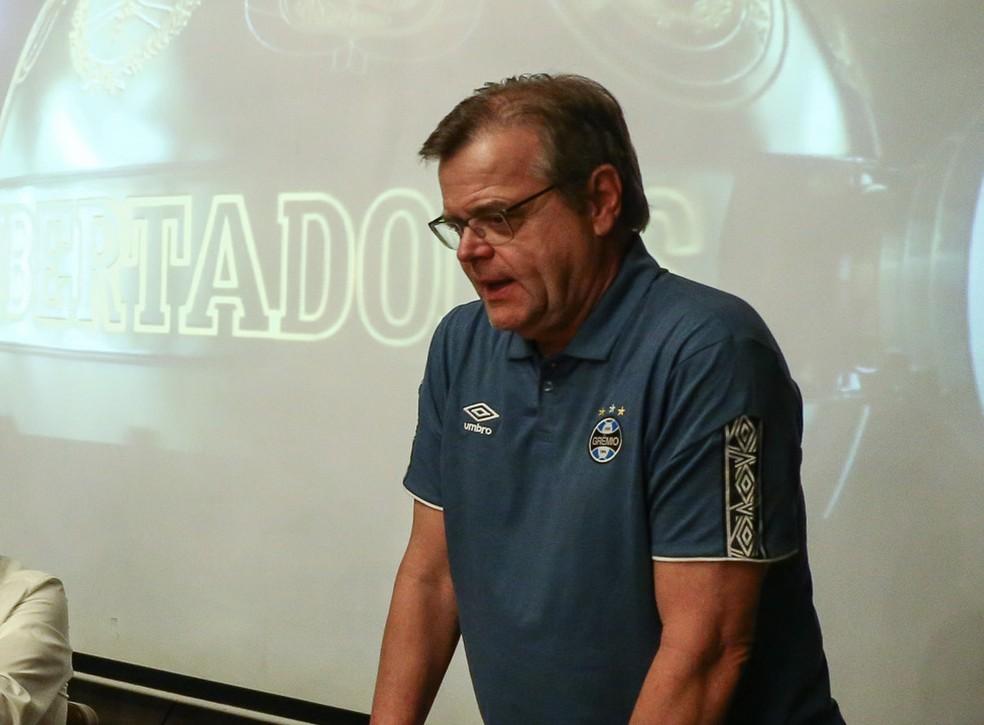 Marcos Herrmann deve ser confirmado como vice de futebol — Foto: Lucas Uebel/Grêmio