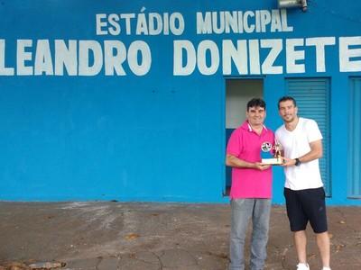 Leandro Donizete - Estádio (Foto: Divulgação)
