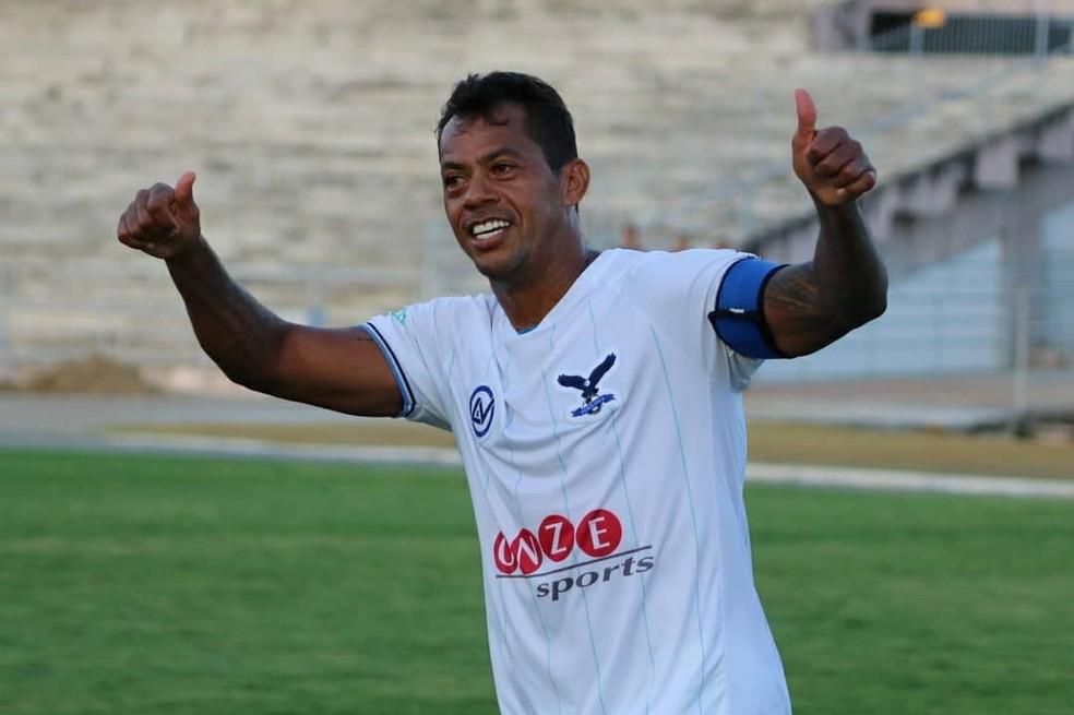 Marcelinho Paraíba será o camisa 10 da Perilima no Campeonato Paraibano — Foto: Ramon Smith / Perilima