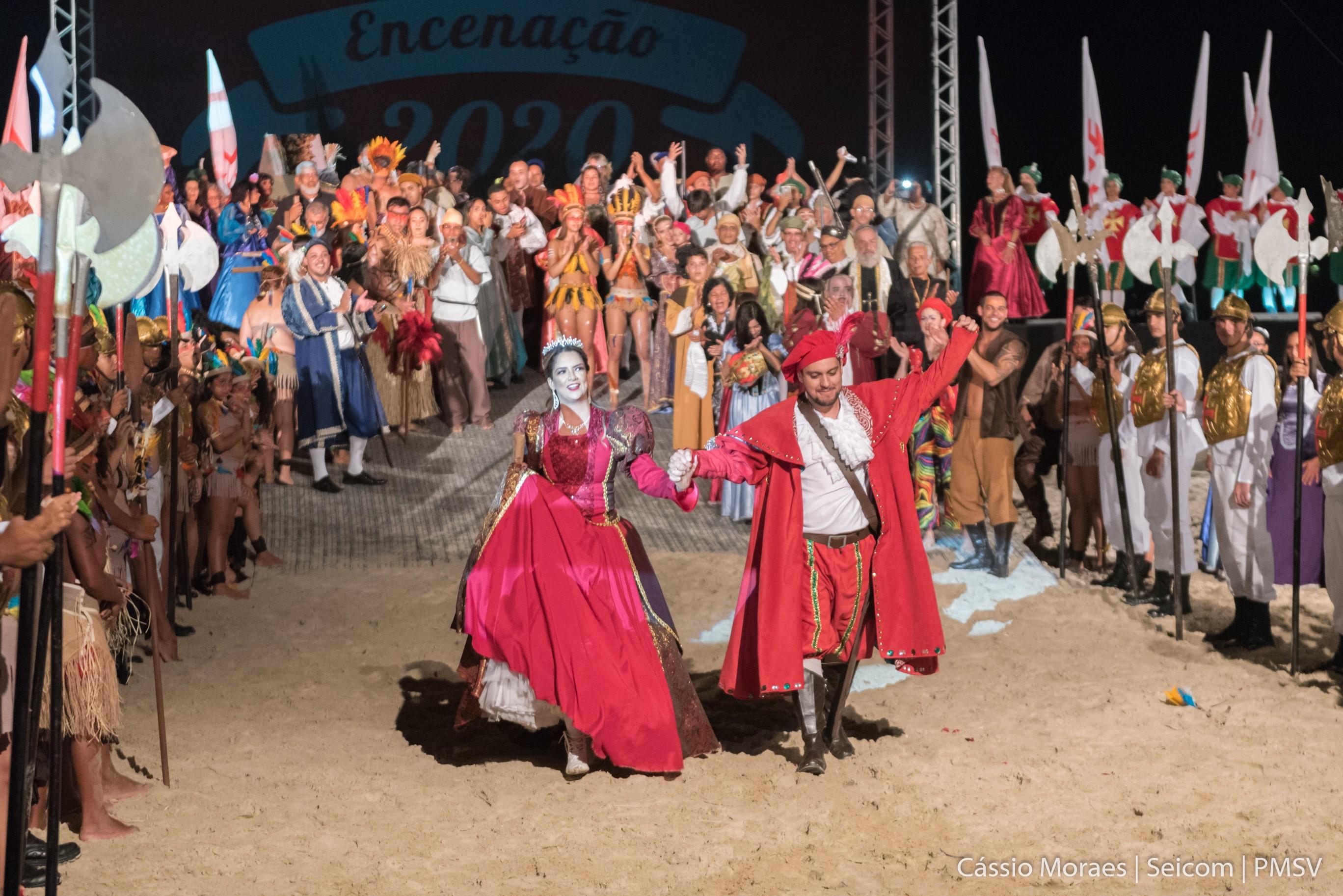 Maria Cecília & Rodolfo viram atores em peça que entrou para o Guinness