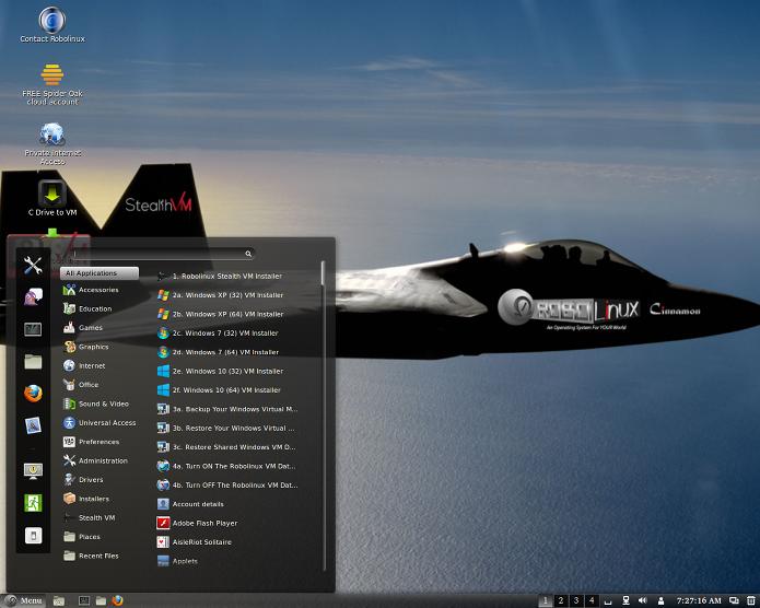 Robolinux permite executar programas Windows de um jeito fácil (Foto: Divulgação/Robolinux)