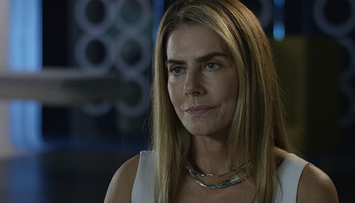 Maitê Proença interpreta filha do personagem (Foto: Divulgação)