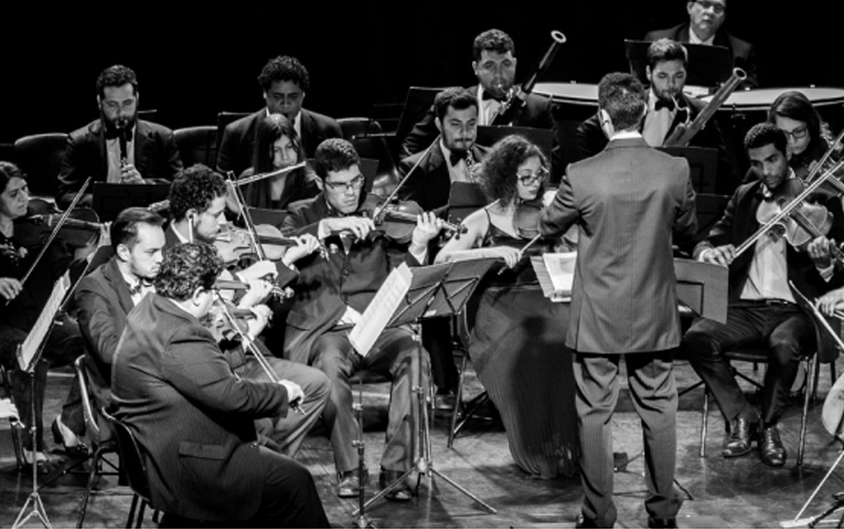 Orquestra Filarmônica realiza concerto gratuito na Câmara Municipal de Valinhos - G1