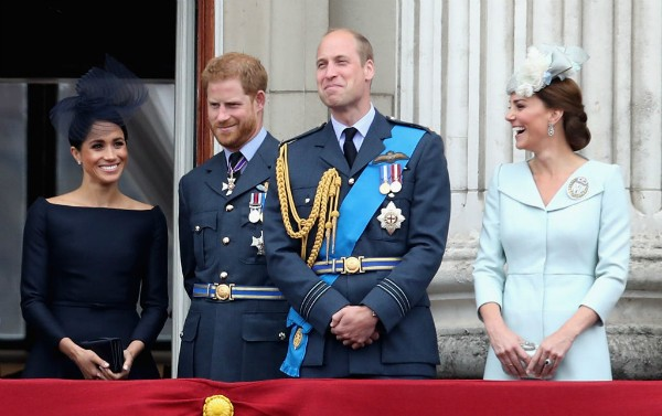 Meghan, Harry, William e Kate (Foto: Getty Images)