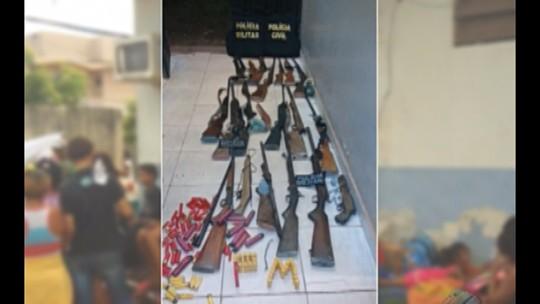 Grupo armado é preso na PA-150, no sudeste do Pará