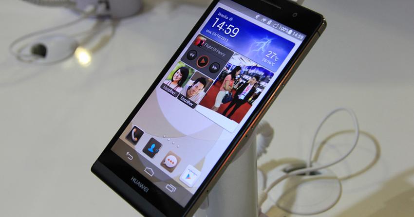 Ascend P6, smartphone mais fino do mundo, chega ao Brasil por R$ 1,5 mil