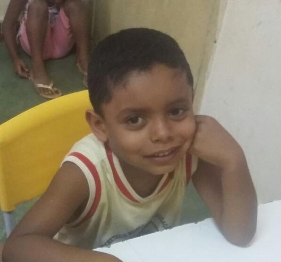 Renan Nicolas Santos,  4 anos (Foto: Arquivo Pessoal)