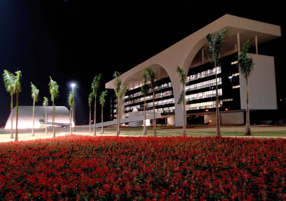 Cidade Administrativa é situada na Região Norte de Belo Horizonte — Foto: Carlos Alberto/Imprensa MG