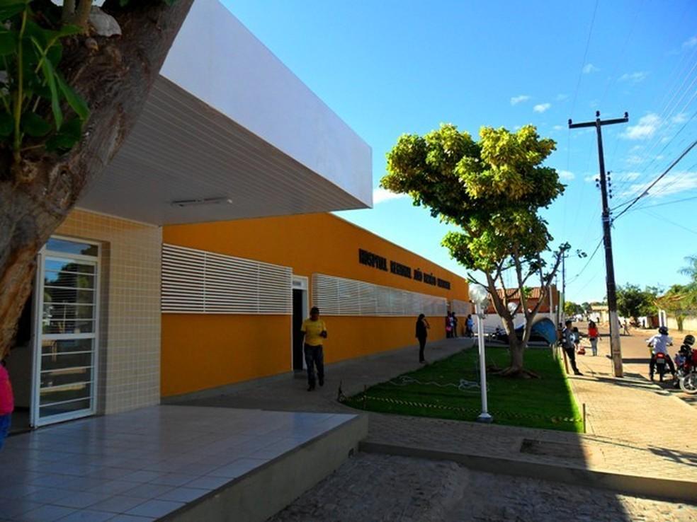 Hospital de Corrente, no Piauí — Foto: Governo do Piauí/ Divulgação