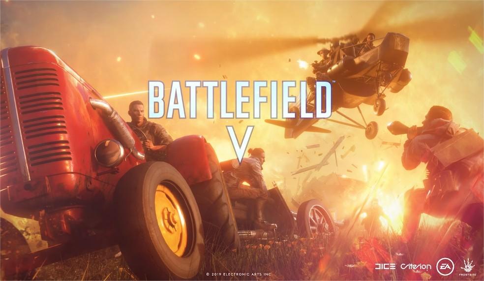 Firestorm é o modo Battle Royale de Battlefield 5 que será lançado no fim de março — Foto: Divulgação/Electronic Arts