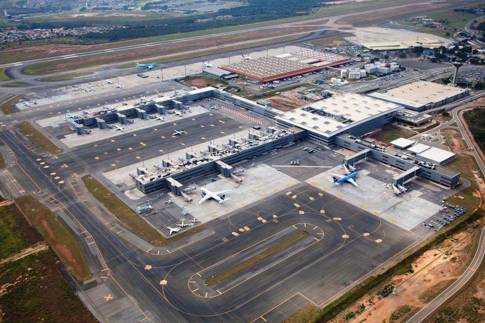 O Aeroporto Internacional de Viracopos, em Campinas (Foto: Ricardo Lima  )