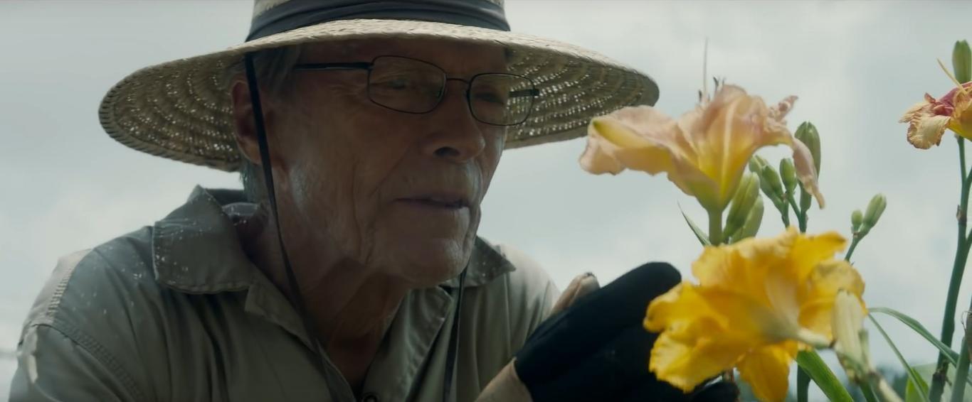 Eastwood  em cena  de 'A mula', de 2019