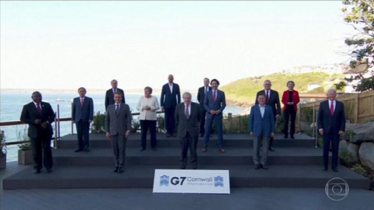 Líderes do G7 se comprometem a adotar plano de reação rápida contra futuras pandemias