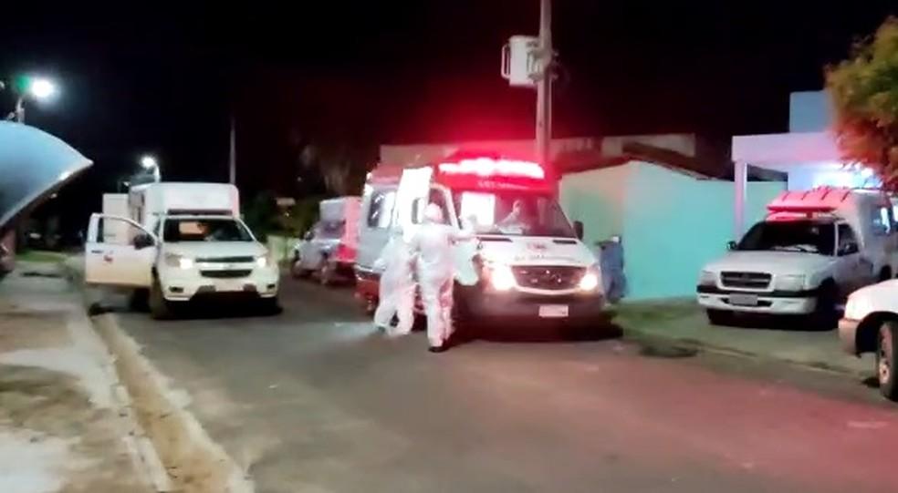 Caos no sistema de saúde de Campo Maior — Foto: Joãozinho Félix