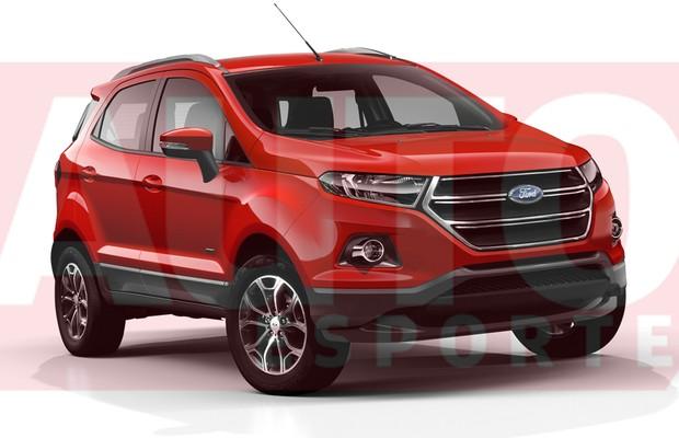 Ford EcoSport reestilizado chega no início de 2016 - AUTO ...