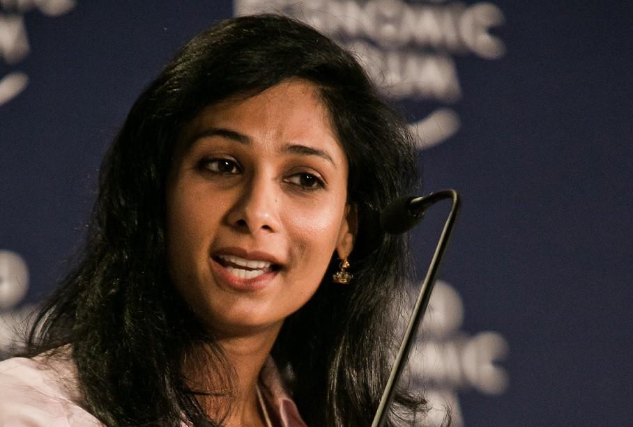 A economista Gita Gopinath, do Fundo Monetário Internacional (Foto: WIkimedia Commons)