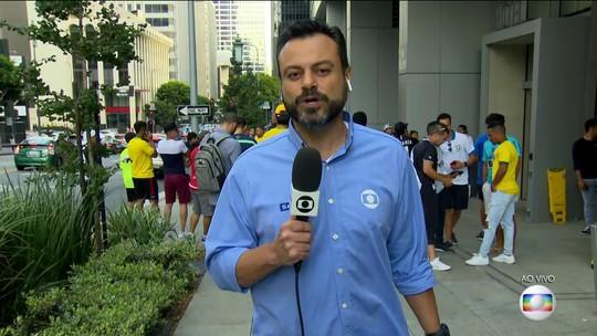 Brasil vai enfrentar o Peru em Los Angeles
