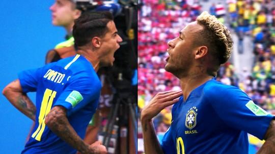 Drama, dores de Neymar, nervosismo e golaço: o 2 a 0 na visão de Ronaldo