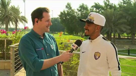 Em Abu Dhabi, Caio, atacante do Al Ain, revela ansiedade para a final do Mundial de Clubes contra o Real Madrid